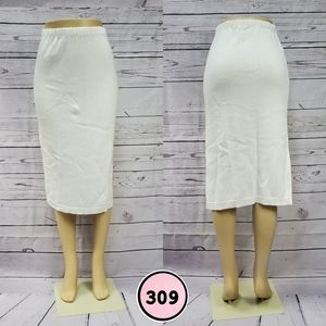 mademoiselle small high waisted knit skirt